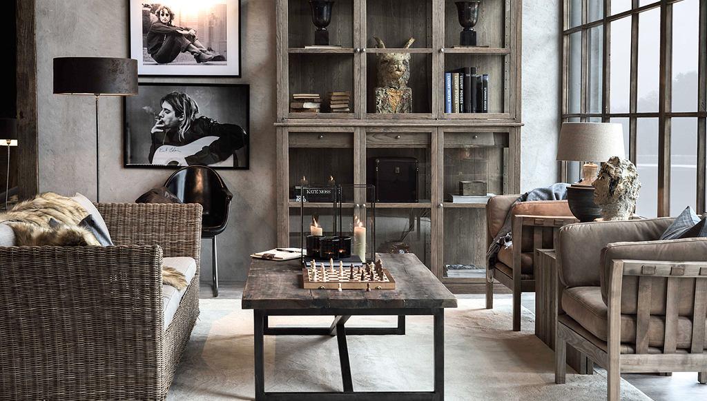 Almi Decor - meble z rattanu sprawdzą się nie tylko na tarasie, ale również w salonie