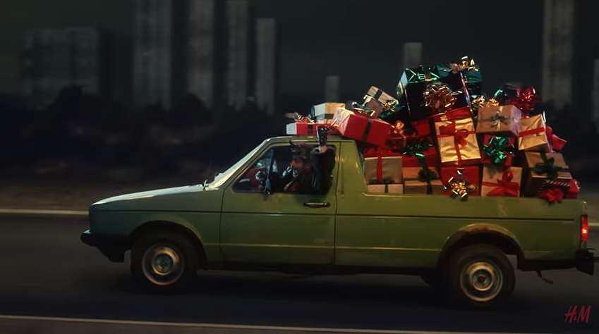 Kadr z filmu H&M 'A Magical Holiday' / Screen z Youtube.com/H&M