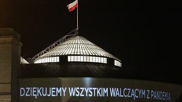 Nocne posiedzenia Sejmu IX Kadencji, 8 kwietnia 2020.
