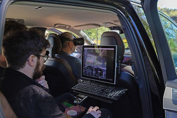 Wirtualne testy Volvo w goglach Vario