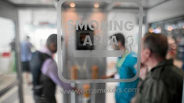 strefa dla palaczy
