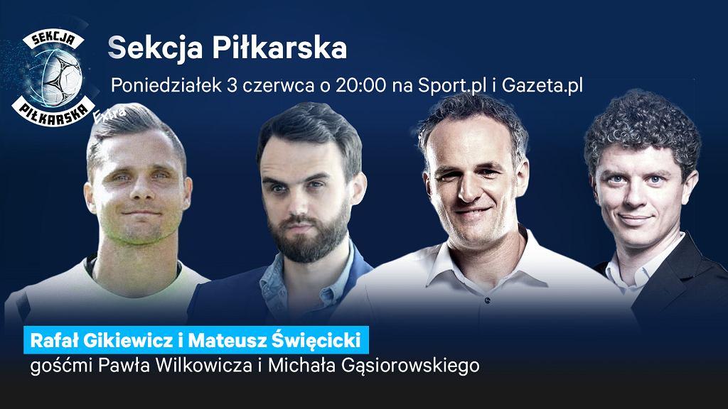 Rafał Gikiewicz i Mateusz Święcicki gośćmi Sekcji Piłkarskiej