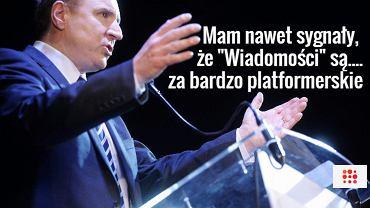 Jacek Kurski, szef TVP