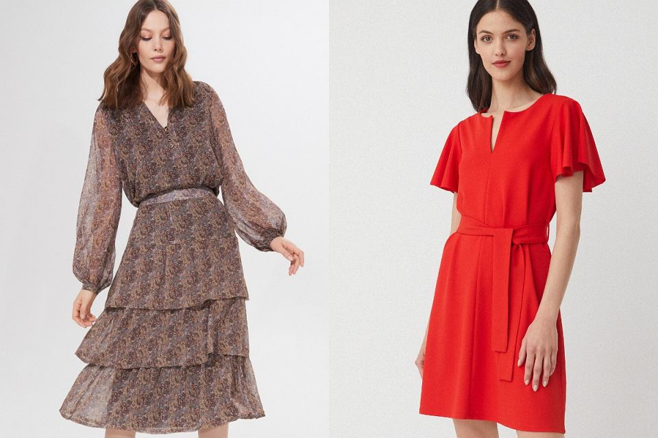 Eleganckie sukienki z wyprzedaży