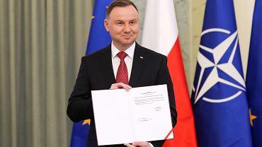 Prezydent Andrzej Duda podpisał nową Strategię Bezpieczeństwa Narodowego