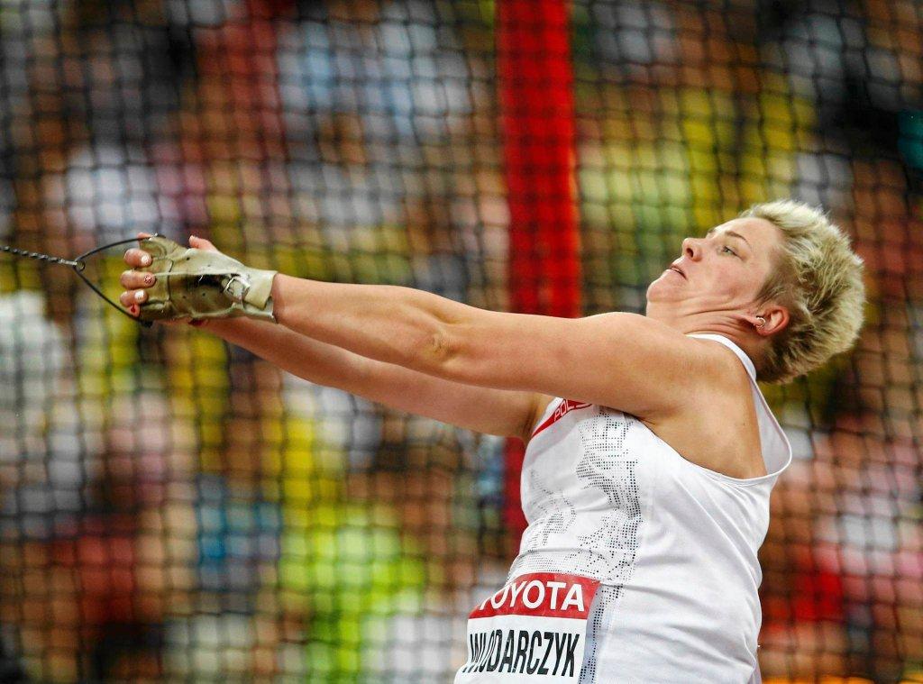Anita Włodarczyk, polska młocistka, zdobyła złoto na mistrzostwach w Pekinie