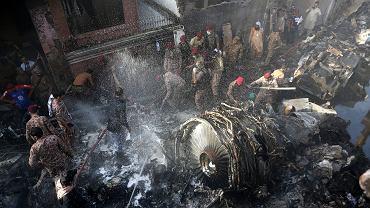 Katastrofa samolotu w Pakistanie, 22 maja 2020.