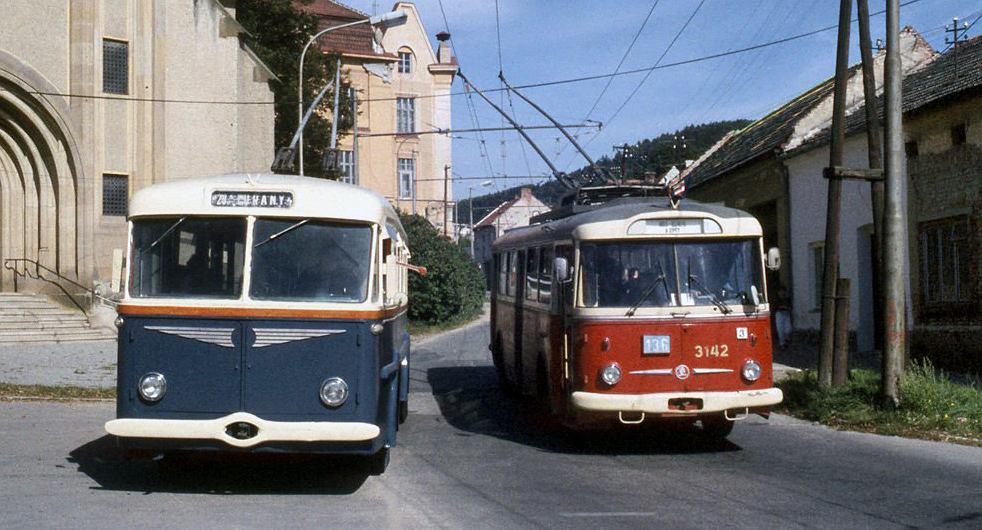 Czeskie trolejbusy Skoda 9Tr i 7Tr