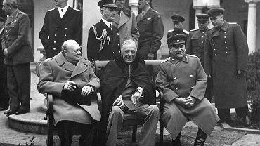 Konferencja jałtańska, luty 1945 r.