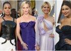 Oscary 2016: najgorsze stylizacje gwiazd. Eksplozja fioletu, pognieciona suknia i... koszula nocna