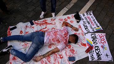 Protesty antyrządowe w Kolumbii