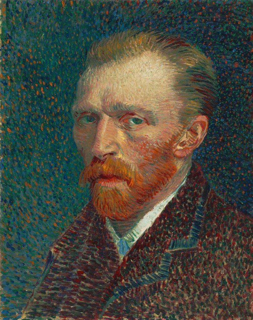 Vincent van Gogh, Autoportret (F 345), 1887 / Domena publiczna / Art Institute of Chicago
