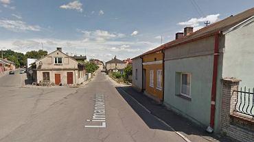 Rozwidlenie ulic Limanowskiego i 1 Maja w Opocznie