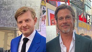 Rafał Zawierucha, Brad Pitt
