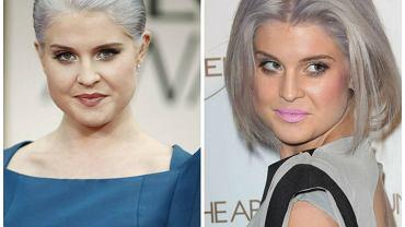 Kelly Osbourne, siwe włosy
