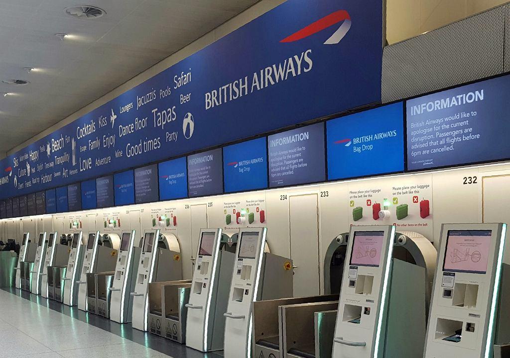 Awaria systemów komputerowych British Airways na lotnisku Gatwick