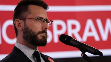 Radosław Fogiel, zastępca rzecznika prasowego PiS