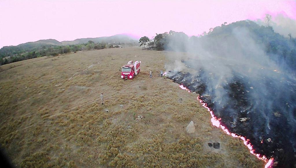 Pożary w Brazylii