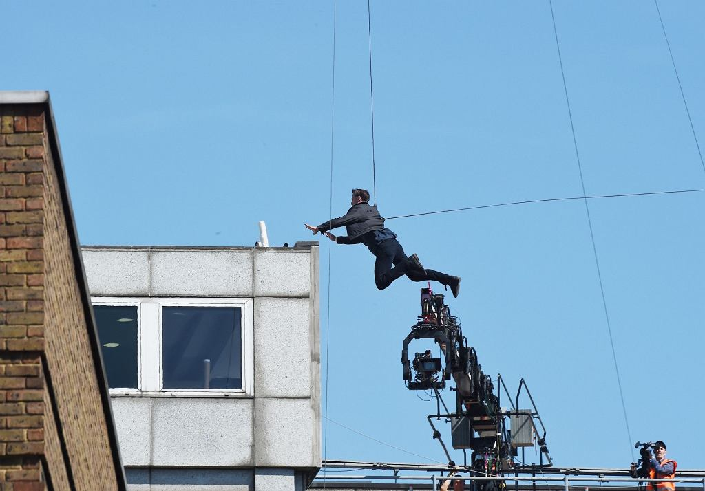 Tom Cruise na planie Mission Impossible 6