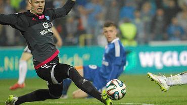 Chorzów. Ruch - Legia Warszawa 0:0. Matus Putnocky