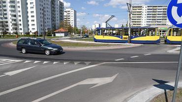 Rondo u zbiegu ulic Ślaskiego i Konstytucji 3 maja