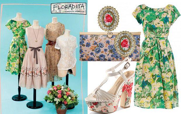 Floradita czyli kwiatowo u Dorothy Perkins