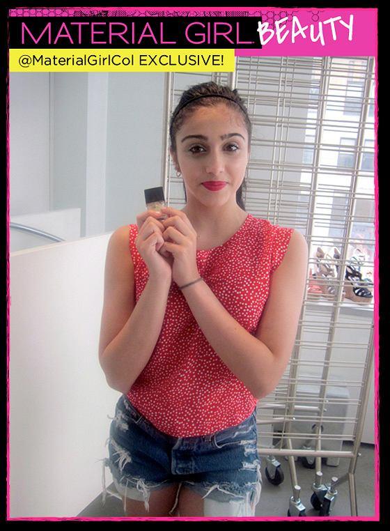 Lourdes promuje linię kosmetyków Material Girl