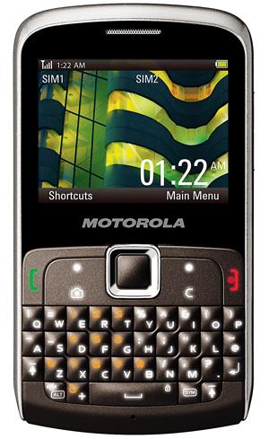 komórka, komórka dwusimowa, Motorola