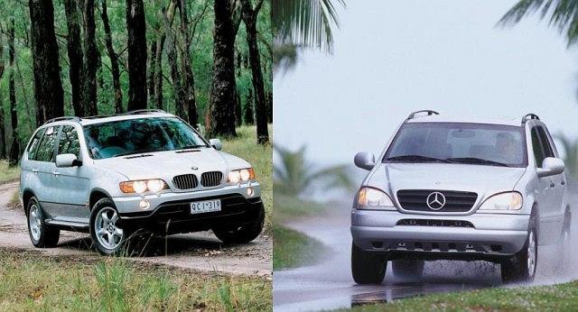 Pojedynek używanych: BMW X5 vs Mercedes ML