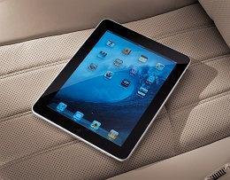Hyundai Equus - tablet