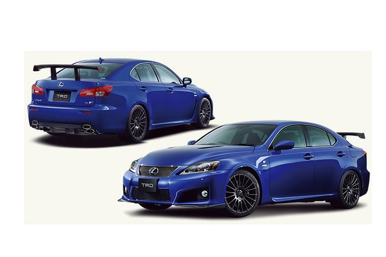 Lexus IS F z dodatkami Toyota Racing Development (TRD)