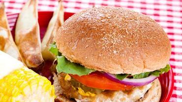 Burger z indyka