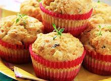 Muffinki z szynką i serem - ugotuj