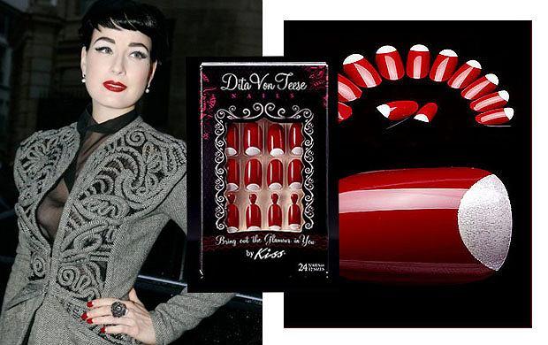 Stylizacja paznokci według Dity Von Teese
