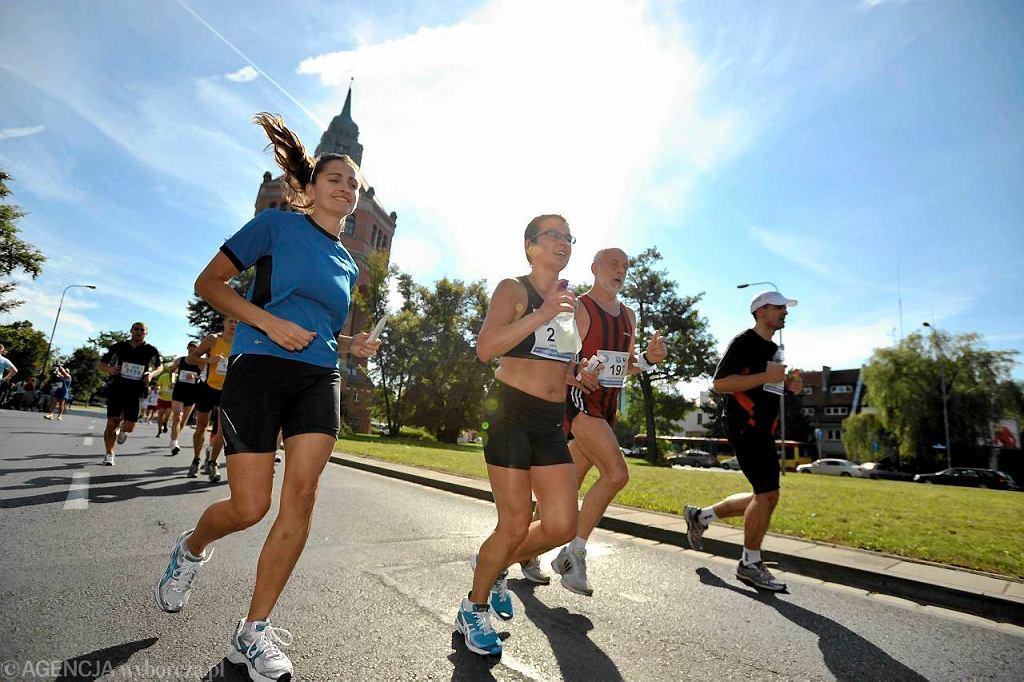 W 2011 roku biegacze walczyli we Wrocławiu z tropikalnym upałem