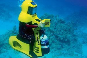 Na wakacje: skuter podwodny