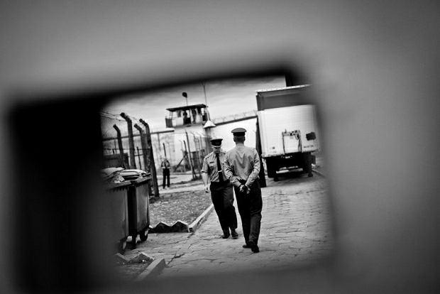 Skiba w wiezięniu w Goleniowe