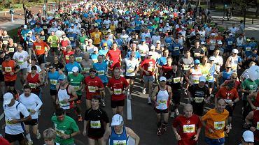 Start 33. Maratonu Warszawskiego na Agrykoli