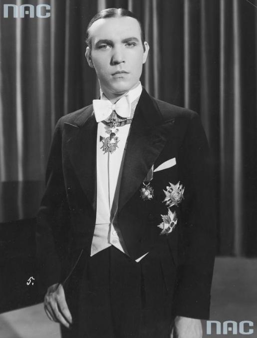Kadry filmowe z lat 30.