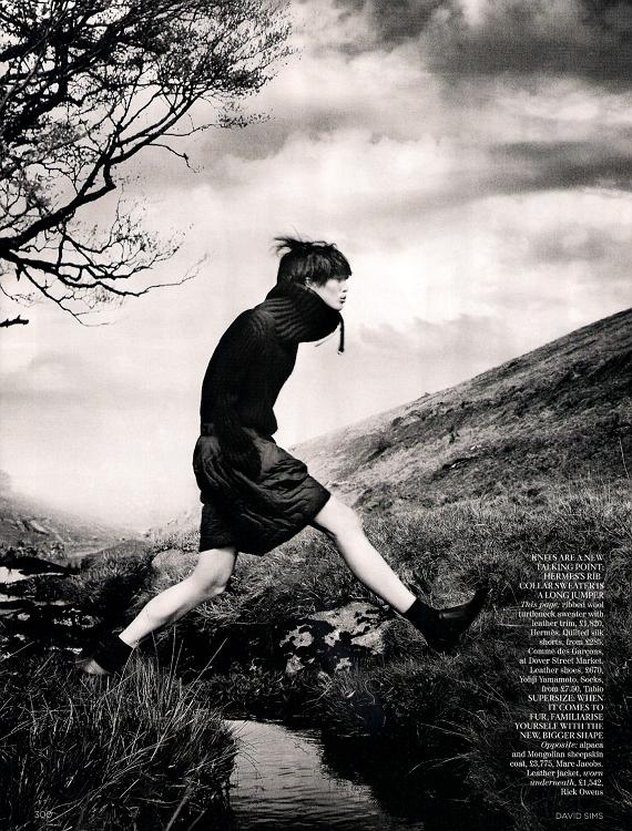 Vogue Uk - David Sims