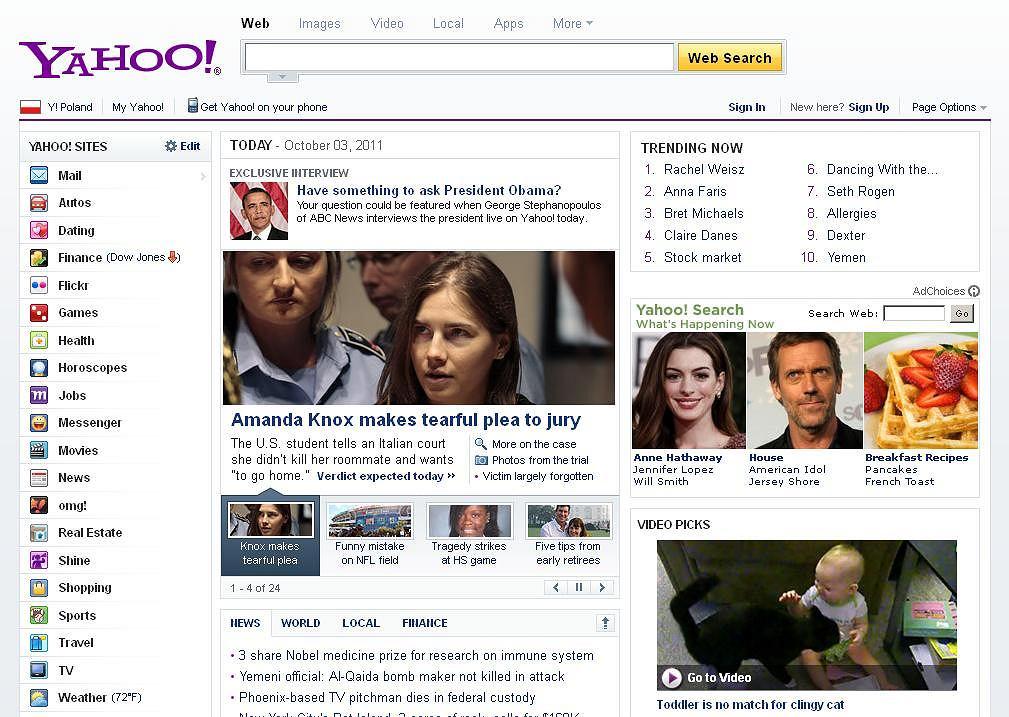 Chińska firma przejmie Yahoo?