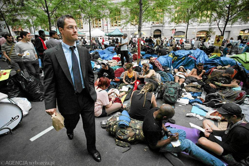 Protest na Wall Street