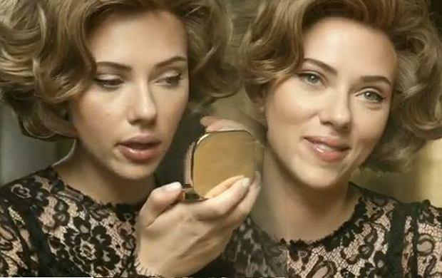 Scarlett Johansson w reklamie perfum Dolce & Gabbana