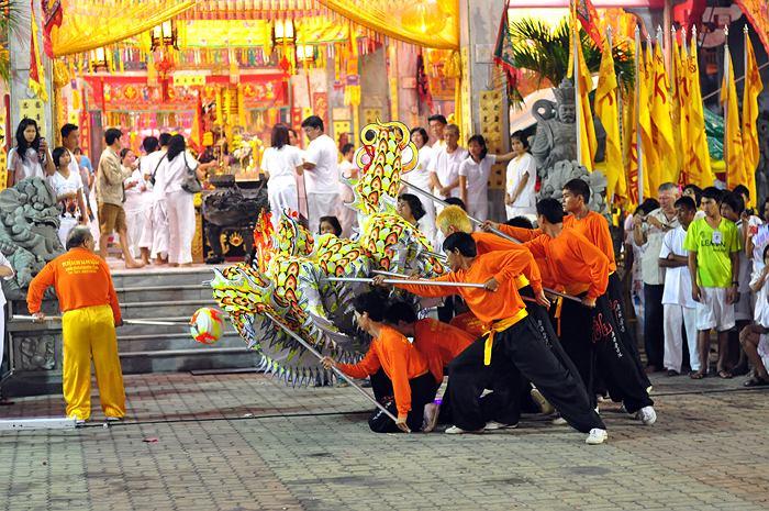 Festiwal Wegetariański, Phuket, Tajlandia