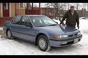 Honda Accord z przebiegiem 1 miliona mil