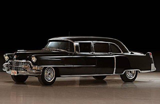 Cadillac Fleetwood Limo Elvisa Presleya
