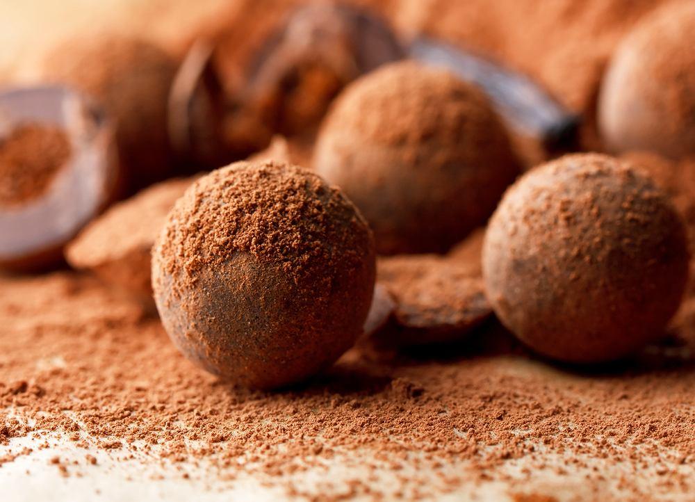czekolada, słodycze, trufle