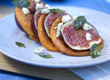 Naleśniki z figami i serem pleśniowym - ugotuj
