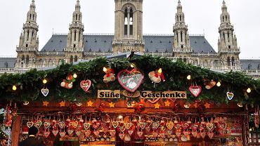 Wiedeń, jarmark świąteczny, boże narodzenie