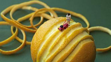 """""""Orange mower"""" (""""Kosiarz pomarańczy"""")"""